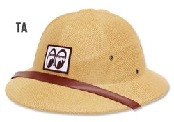 Mooneyes Equipped Safari Hat, Tan