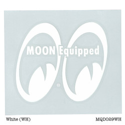 Mooneyes Equipped Eyes Die Cut Decal, Right