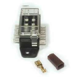 American Autowire 4 Fuse Auxiliary Fuse Block Assembly