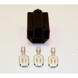 American Autowire Sealed Beam Headlight Connector - 3 Way