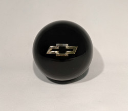Chevrolet Bowtie Embedment Shift Knob, Black