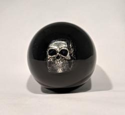 2-1/4  Skull Shift Knob, Black