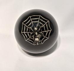 2-1/4 Spider Shift Knob, Black