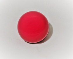 2-1/8 Solid Shift Knob, Dragon Red