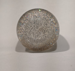 2-1/8 Sparkle Shift Knob, Clear
