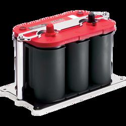 Billet Specialties Battery Mount - Optima 34/78, Polished