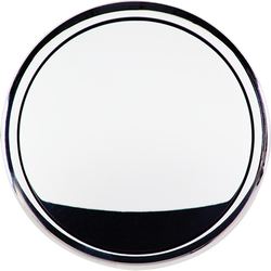 Billet Specialties Horn Button - Plain - Standard, Polished