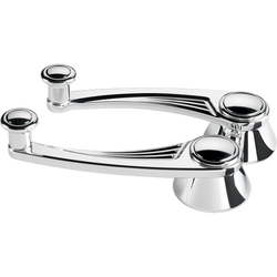 Billet Specialties Window Cranks - To 1948 - Ball Milled, Polished