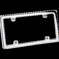 Billet Specialties License Plate Frame, Polished