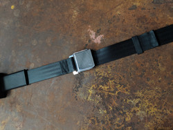 Seatbelt Solutions 2-Point Retractable Lap Belt w/ Lift Latch
