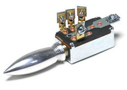 SO-CAL Speed Shop 3-Position Headlight Switch, Bullet, Polished