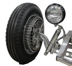 SO-CAL Speed Shop Shock Mount/Headlight Mount Combo, Polished