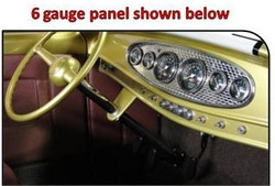 SO-CAL Speed Shop 6 Gauge Dash Panel