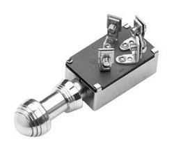 SO-CAL Speed Shop Keyless Ignition Switch, Forty, Polished