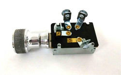 SO-CAL Speed Shop 2-Position Headlight Switch, Speed, Polished