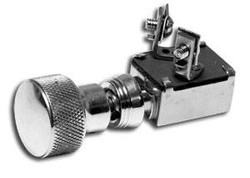 Horn Push Switch, Speed, Polished
