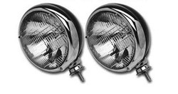 SO-CAL Speed Shop Headlights, Chrome Ring