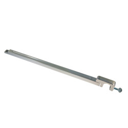 All American Billet Door Prop Rod, Polished (AAB-DP-P)