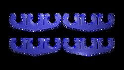 BAD Innovations 8.5mm Blue Spark Plug 3 Wire Separator