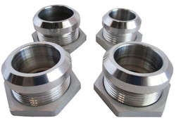 RPC Polished Aluminum Firewall Hose Rings Set, 4 Piece