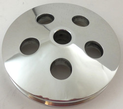 RPC Type II Power Steering Pulley, Polished