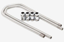 "RPC 44"" Heater Hose Kit with Chrome Caps"