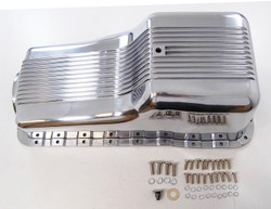 RPC SBF Finned Aluminum Oil Pan, Polished
