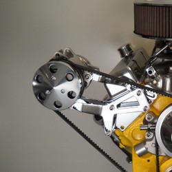 Bill's Hot Rod Co. 1100 Series A/C Compressor Bracket (BIL-1100-AC)