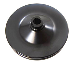 RPC GM 1-Groove Power Steering Pulley, Black