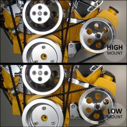 Bill's Hot Rod Co. 300 Series Power Steering Pump Bracket (BIL-300-PS)