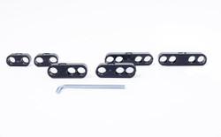 RPC Plastic Pro Style Wire Separators, Black
