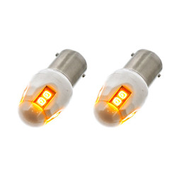 United Pacific High Power 8 LED 1156 Bulb - Amber