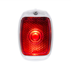 United Pacific Tail Light w/Black Housing For 1940-53 Chevy & GMC Truck - R/H