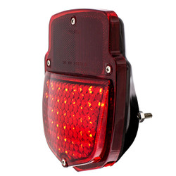 United Pacific 38 LED Tail Light w/Black Housing For 1953-56 Ford Truck - R/H