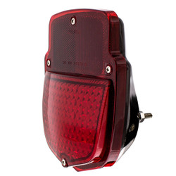 United Pacific 38 LED Sequential Tail Light w/Black Housing For 1953-56 Ford Truck - L/H