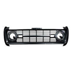 United Pacific  Black Grille Without Lettering For 1969-77 Ford Bronco