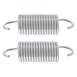 United Pacific  Stainless Steel Hood Springs For 1967-72 Chevrolet & GMC Truck (Pair)