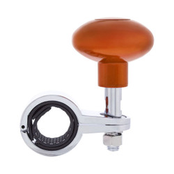 United Pacific  Heavy Duty Steering Wheel Spinner - Cadmium Orange