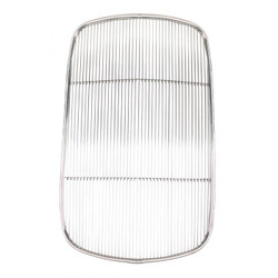 United Pacific  Original Style Stainless Steel Grille Insert Without Crank Hole For 1932 Ford Car