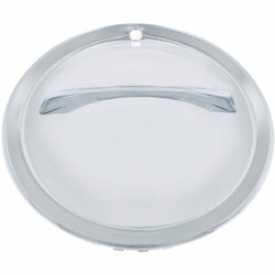 "United Pacific  15"" Chrome Single Bar Hub Cap (4/Set)"