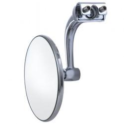 "United Pacific  3"" Curved Arm Peep Mirror w/Convex Mirror Glass"