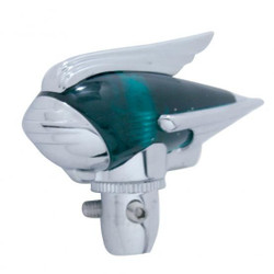 United Pacific  Chrome Antenna Topper, Green