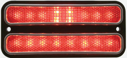 United Pacific  18 LED Side Marker Light, Red Lens, Rear For 1968-72 Chevy Truck