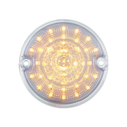 United Pacific  39 LED Parking Light, Amber LED & Clear Lens For 1955-57 Chevy Truck