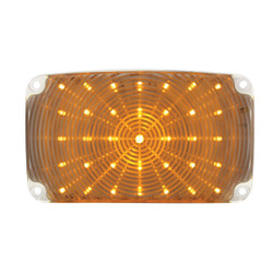United Pacific  35 LED Parking Light, Amber LED & Clear Lens For 1956 Chevy Passenger Car