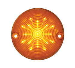 United Pacific  17 LED Parking And Turn Signal Light, Amber For 1957 Chevy Passenger Car