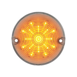 United Pacific  17 LED Parking And Signal Light, Clear Lens And Amber LED For 1957 Chevy Car