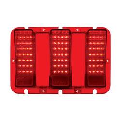 United Pacific  84 LED Tail Light Lens For 1967-68 Ford Mustang