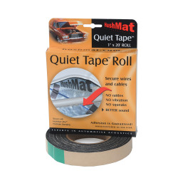 HushMat Quiet Tape 1 In x 20 Ft Roll (HUS-30300)