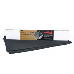 "HushMat 11.5 Sq Ft Silencer Megabond 1/2"" Sound & Thermal Insulating Foam (HUS-20300)"